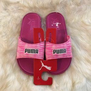 New Puma sandals/slides